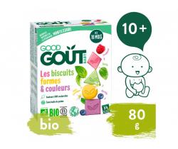 Sušienky (80 g) Good Gout BIO Farby & tvary