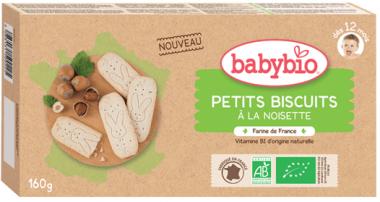 Sušienky s orieškovou príchuťou 160g Babybio
