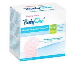 Tampóny do podprsenky BabyOno Premium 24 ks