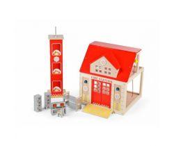 Drevená hasičská stanica Tidlo