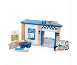 Drevená policajnej stanice Tidlo