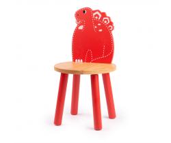Drevená stolička Tidlo Stegosaurus