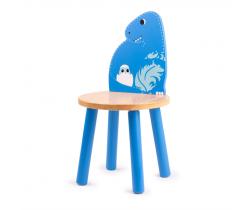 Drevená stolička Tkľud T-Rex
