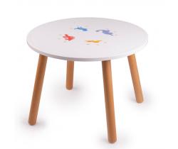 Drevený stôl Tidlo Dinosaury