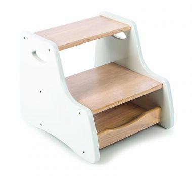 Stolička s úložným priestorom Tidlo Biela