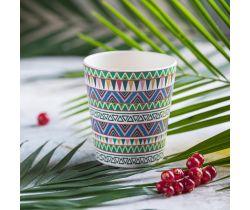 Bambusový hrnček Tommy Lise Ethnic Festive 1 ks