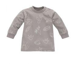 Tričko s dlhým rukávom Pinokio Slow Life Grey