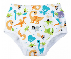Učiace plienkové nohavičky Bambino Mio Dino