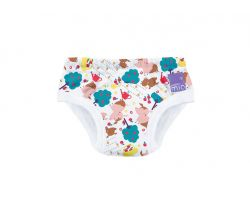 Učiace plienkové nohavičky Bambino Mio Puddle Pigs