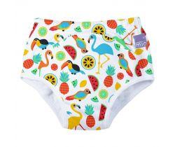 Učiace plienkové nohavičky Bambino Mio Tropical Island