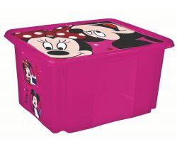 Úložný box s vekom 45 l Keeeper Minnie