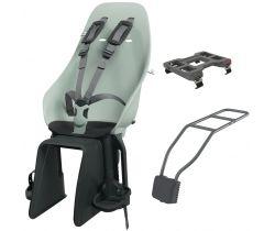 Zadné sedačka na bicykel s adaptérom a nosičom na sedlovku Urban Iki Set