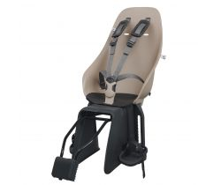 Zadná sedačka na bicykel s adaptérom a nosičom na sedlovku SET  Urban Iki