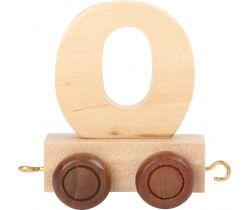 Vagónik drevené vláčikodráhy - prírodný číslica