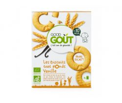 Vanilková kolieska 80 g Good Gout Bio