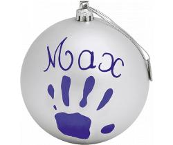 Vianočný odtlačok na stromček Baby Art Christmas ball