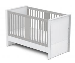 Variabilná detská postieľka 140x70 cm Faktum Holly Grey