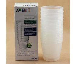 VIA poháriky 180 ml 10 ks Avent