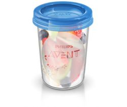 VIA poháriky 240 ml s viečkom 5 ks Avent