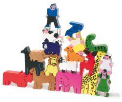 3D puzzle Vilac Zvieratká