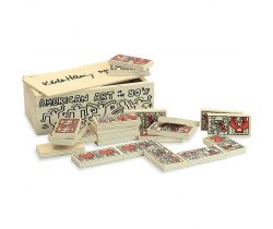 Domino Vilac Keith Haring