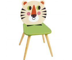 Drevená stolička Vilac Tygr