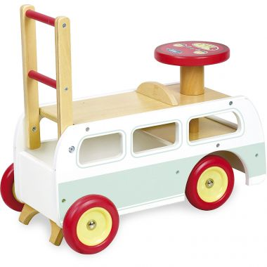 Drevené odrážadlo 2v1 Vilaca Minibus