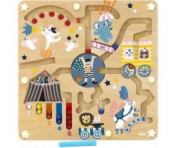 Magnetický labyrint cirkus Vilaca Michelle Carlslund