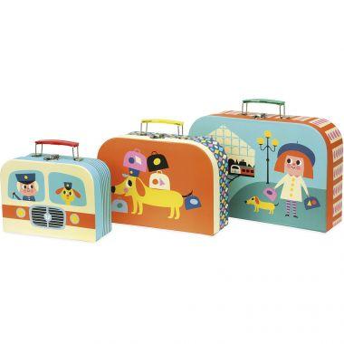 Set 3 kufríkov Vilac