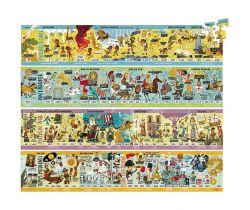 Veľké drevené puzzle Vilaca História