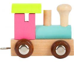 Vláčik farebná lokomotíva Small Foot