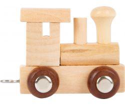 Vláčik Vláčikodráhy Abeceda lokomotíva Small Foot