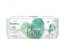 Vlhčené obrúsky 2x48 ks Pampers Pure Aqua