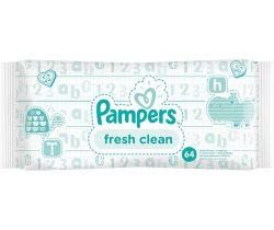 Vlhčené obrúsky 64 ks Pampers Fresh Clean