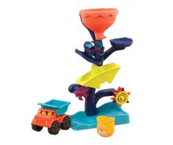 Vodný mlynček s nákladiakom B-Toys