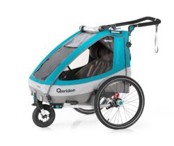 Vozík za bicykel Qeridoo Sportrex 2