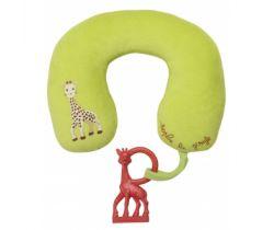 Vulli Sophie žirafa vankúšik s vanilkovým hryzátkom