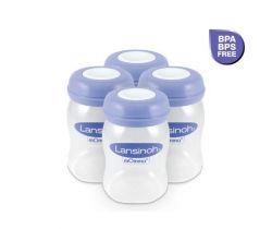 Zásobníky na uskladnenie materského mlieka 4 ks Lansinoh