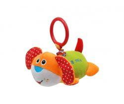 Závesná hračka s vibráciou BabyMix Orange Dog
