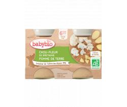 Zeleninový príkrm Karfiol a zemiaky 2x130 g Babybio