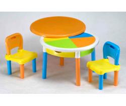 Stoličky a stôl Tega Baby Round