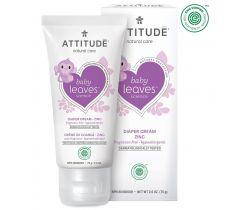 Zinkový krém na zapareniny Attitude Baby leaves bez vône 75 ml