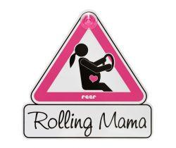 Značka do auta pre tehotné Reer MommyLine