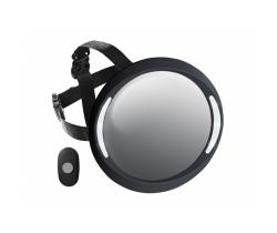 Spätné zrkadlo do auta Apramo Iris Deluxe Black