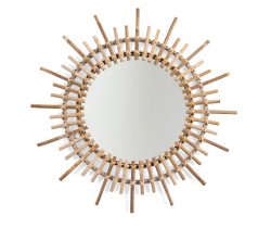 Zrkadlo okrúhle 60 cm ratanové Childhome